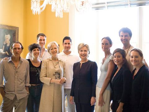 Behind the Marie Claire Fashion Shoot with Hillary Clinton