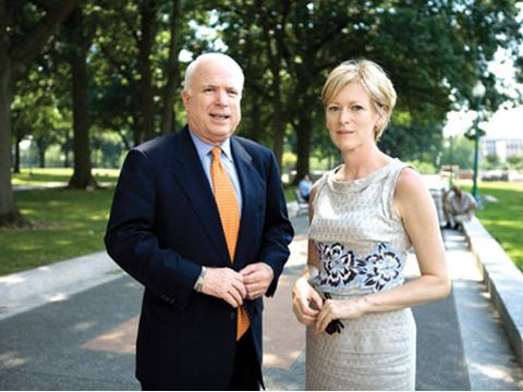 Behind the Marie Claire Fashion Shoot with John McCain