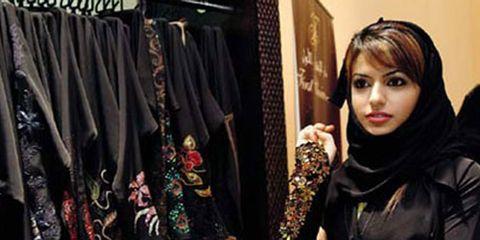 a woman shops in dubai