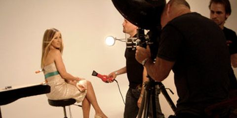 behind the marie claire cover shoot with sarah jessica parker