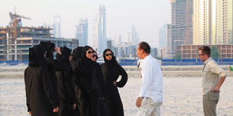 Behind The Scenes at Marie Claire Fashion Shoot in Dubai