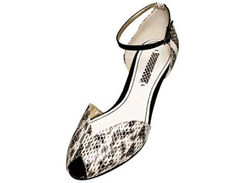 nine west python shoe