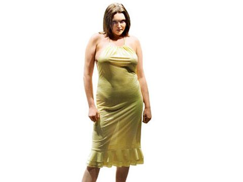 Sophie Dahl: Skinny Model