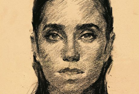 jennifer connelly pencil sketch