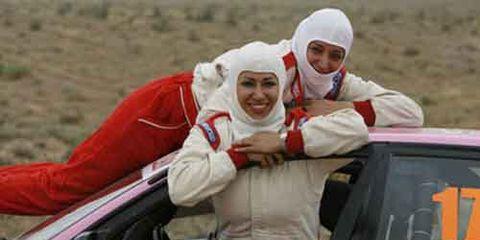 Iranian female race car drivers