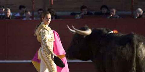 Female Spanish bullfighter Ana Infante