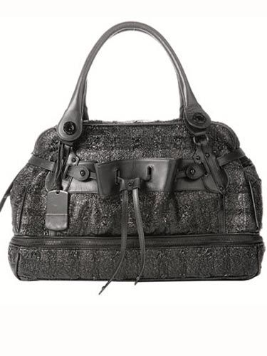 Best black bags for fall. $2375, Alessandro Dell'Acqua; (212) 253-6861.