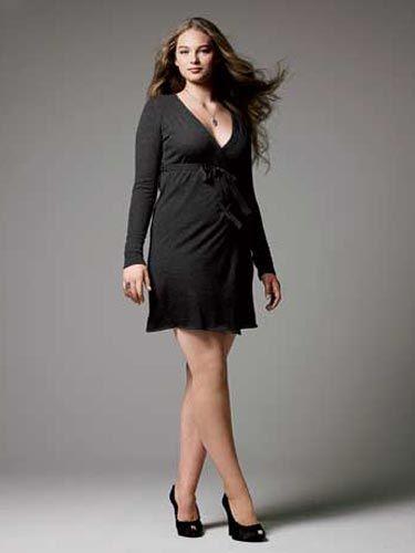 girl in wrap dress