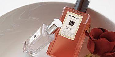 cologne and bath oil