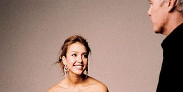 Jessica Alba Behind The Scenes at the Marie Claire Cover Shoot.