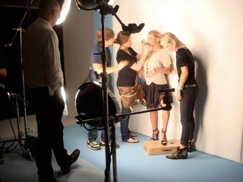 jessica simpson at photo shoot