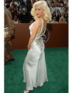 Christina Aguilera Red Carpet Fashion Events