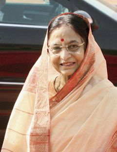 Pratibha Patil: President, India