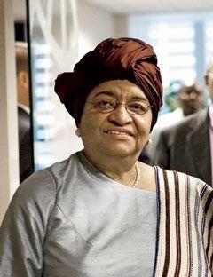 Ellen Johnson-Sirleaf: President, Liberia