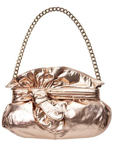 gold bag with chain strap by loeffler randall for target