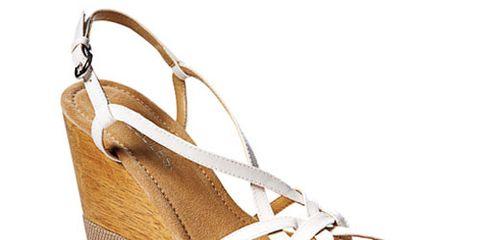 white wedge sandal by aerosoles