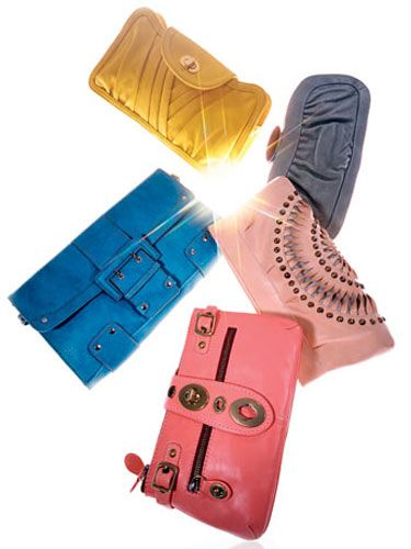 oversize clutch handbags from the spring 2008 runways