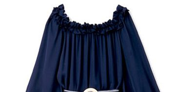 Belted Dress, <b>$380</b>, Tommy Hilfiger; (646) 638-4812.