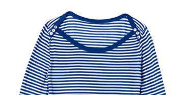 blue and white striped long sleeve shirt from splendid