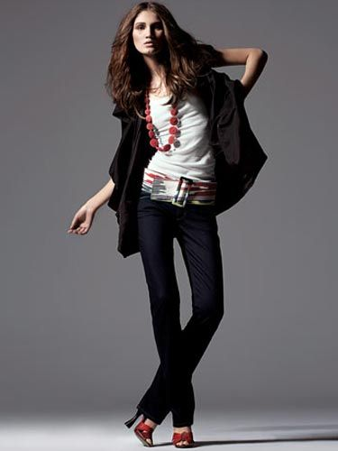 Jump in with both feet.  Spring '08 celebrates denim's lineage, from street to couture.