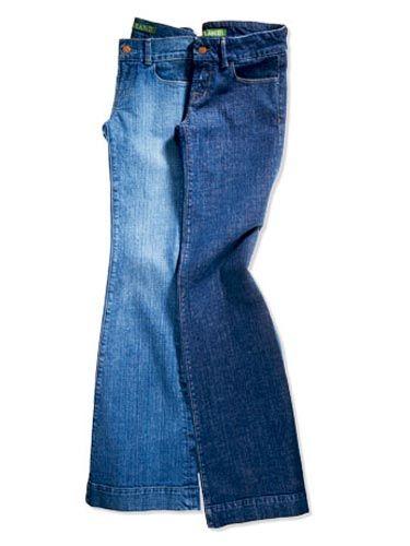 j brand green label blue jeans