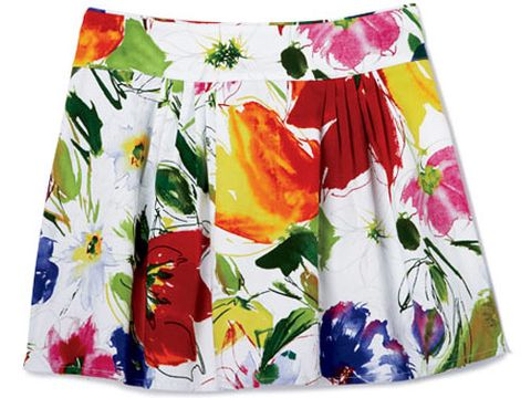 bright floral bb dakota skirt