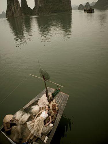 Vietnam's Ha Long Bay. Very Zen.