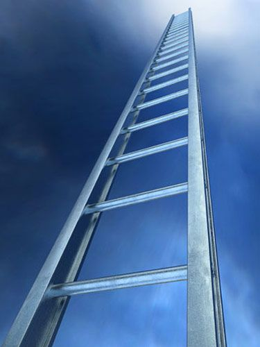 success ladder to the sky