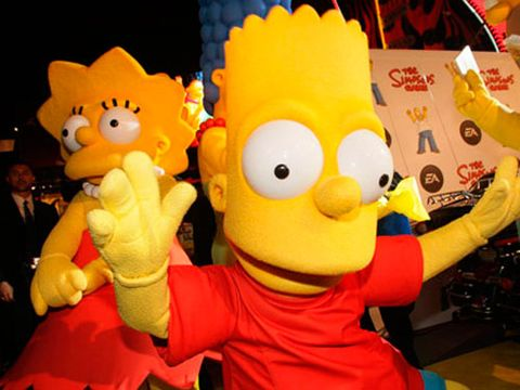 bart and lisa simpson