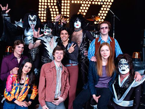 that 70s show cast with kiss