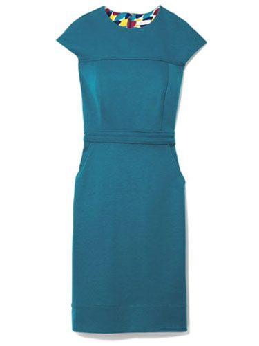 blue green dress shoshanna at saks