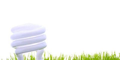 green light bulb energy efficient
