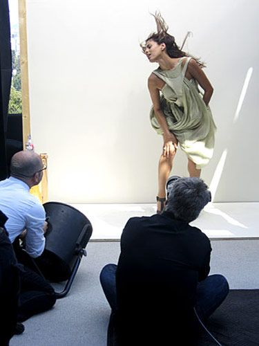 eva mendes photos behind the cover shoot