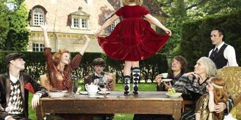 british fashion runway trends country chic