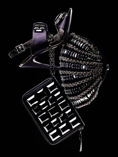 luxury winter shoes and bags