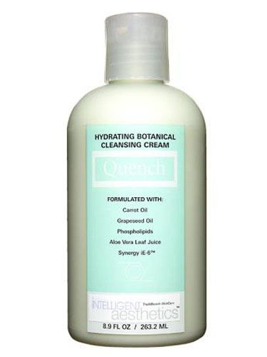 bottle of hydrating botanical cleansing cream