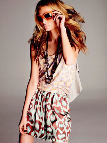 urban safari exotic print clothes