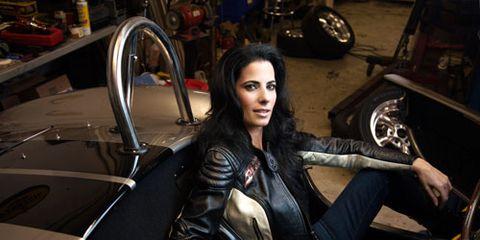 michele shapiro female race car driver