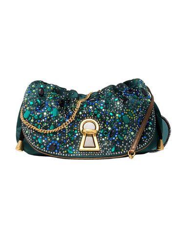green jeweled clutch