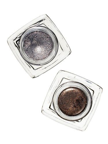 bobbi brown metallic gold and silver cream shadow