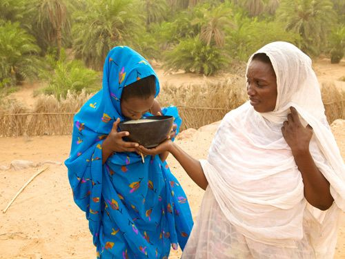 Mauritanian women fattened up to find husband on dating