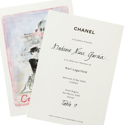 chanel cruise collection in venice italy