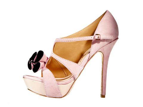 pink lamb heels
