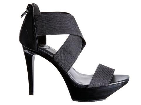 dvf black platform shoes