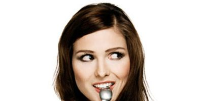 woman with spoon