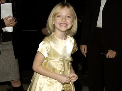 dakota fanning in 2001