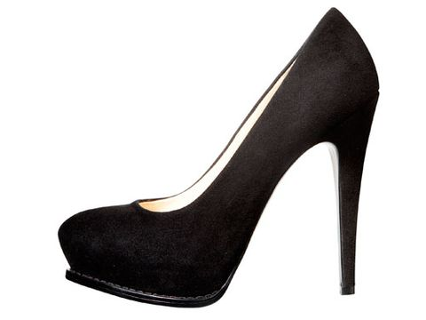 black high heel