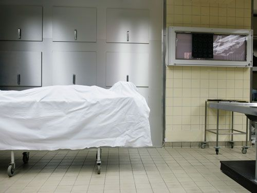 mortuary management in hospital