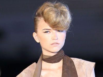 diesel runway hairstyle