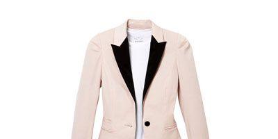 pink tuxedo jacket